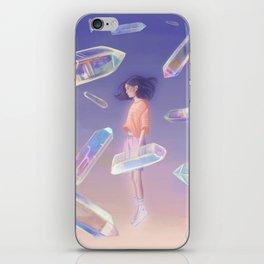 3D quartz iPhone Skin