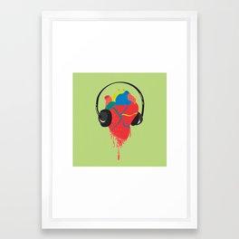 Heart Beat Framed Art Print