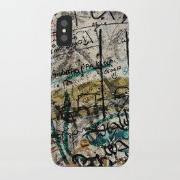 Berlin Wall Graffiti iPhone Case