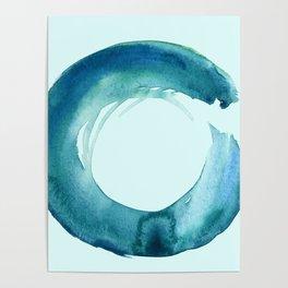 Serenity Enso No. 1 by Kathy Morton Stanion Poster