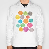 circles Hoodies featuring Circles by Colorshop