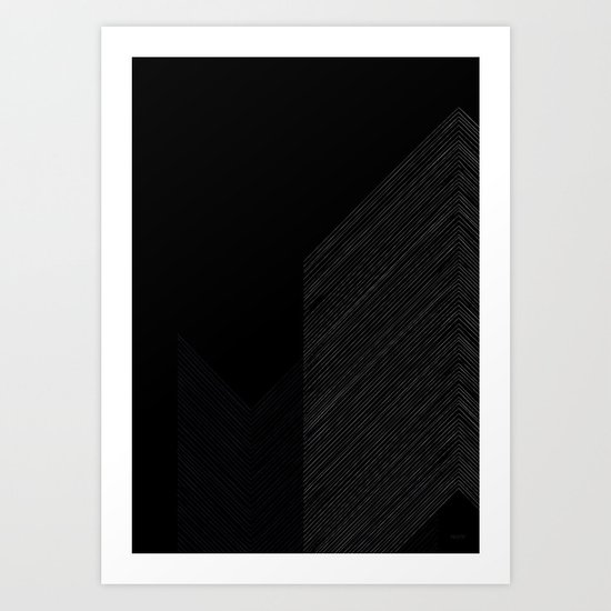 Arrows by Friztin Art Print