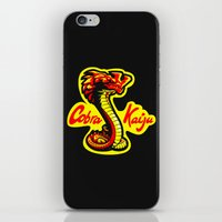 kaiju iPhone & iPod Skins featuring Cobra Kaiju by Tabner's