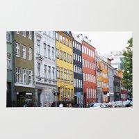 copenhagen Area & Throw Rugs featuring Copenhagen by Anya Kubilus