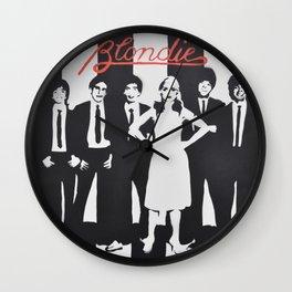 Blondie Stencil Wall Clock