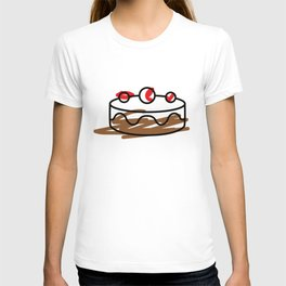 colour me bad / cake T-shirt