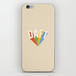 Letters : Daft iPhone Skin