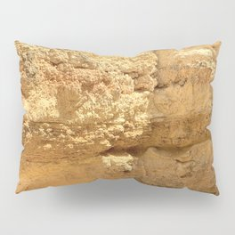 Rock Face in Lagos, Portugal Pillow Sham