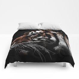 Dark Tiger Colorized Comforters
