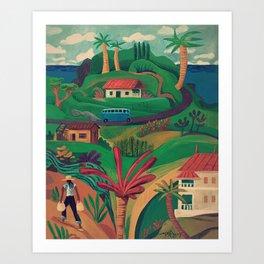 North Mahe, Seychelles Art Print