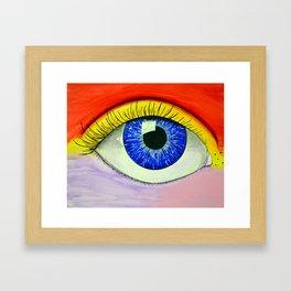 Color Vision RB Framed Art Print