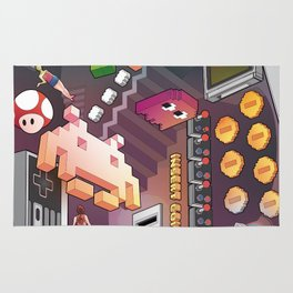 Lost in videogames Rug