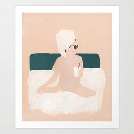 Weekend Mode Art Print