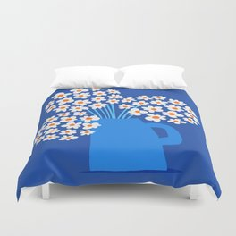 Abstraction_FLORAL_Blossom_001 Duvet Cover