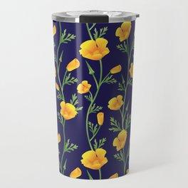 California Gold Rush (Poppies) Travel Mug