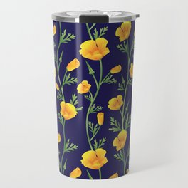 California Gold Rush (Poppies) Travel Mug