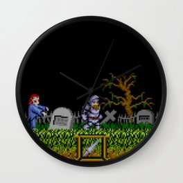 Ghosts 'n Goblins Wall Clock