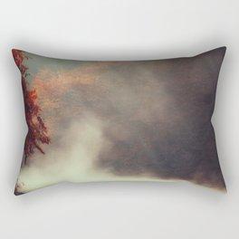Breathing River Rectangular Pillow