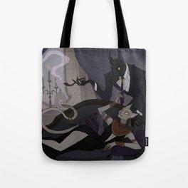 Anubis and Bastet Tote Bag
