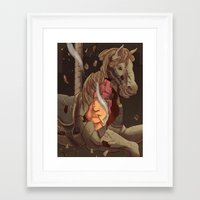 catcher in the rye Framed Art Prints featuring The Catcher in the Rye by Malcolm Loo