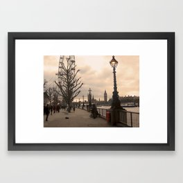 Dawn and Busk Framed Art Print