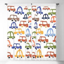Colourful Cars Wall Art Blackout Curtain