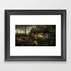 kodran mess hall Framed Art Print
