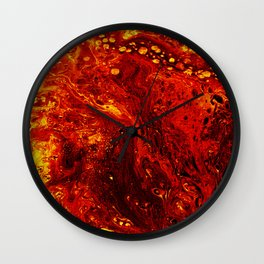 Torched Wall Clock