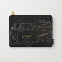 VW Microbus Hippiebus Germany Carry-All Pouch