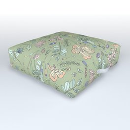 Shit Gone Wild Outdoor Floor Cushion