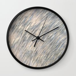 Sand stone scribble Wall Clock