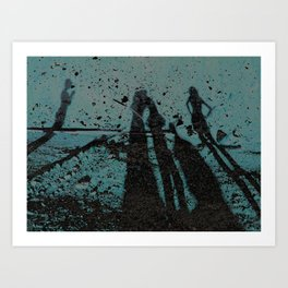 Family Shadows Art Print