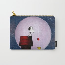snoopy night dreams Carry-All Pouch