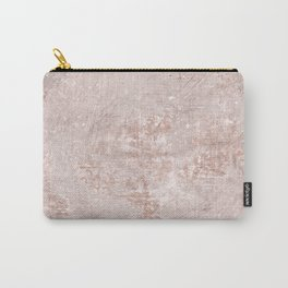 texture pale terracotta Carry-All Pouch