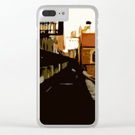 New York Rails  Clear iPhone Case