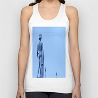 apollo Tank Tops featuring Apollo Conversation by ExperienceTheFrenchRiviera