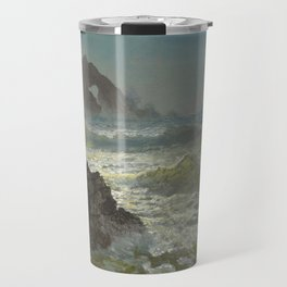 Albert Bierstadt - Seal Rock, California Travel Mug