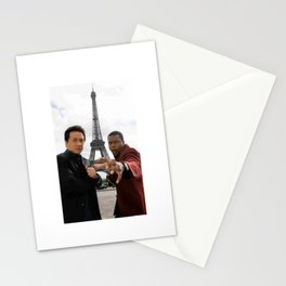 Jackie Chan and Chris Tucker Stationery Cards