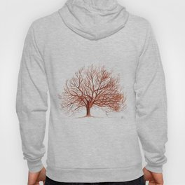 Lonely tree in autumn Hoody