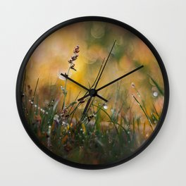 Beyond the Imagination Wall Clock