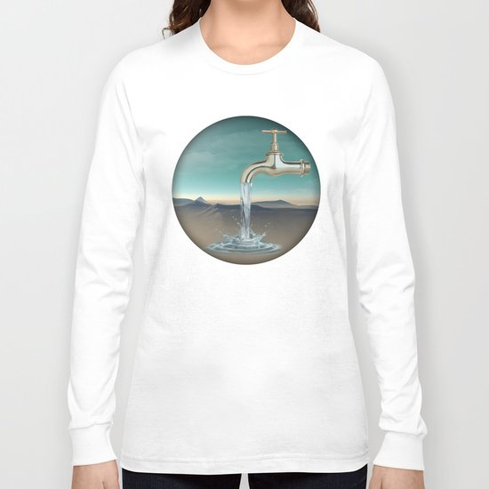 filling the void Long Sleeve T-shirt