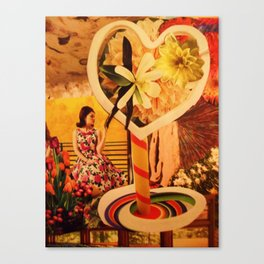 Vacancy Zine -The Game of Love Lost Canvas Print