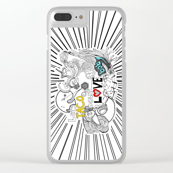let's TACO bout LOVE baby Clear iPhone Case