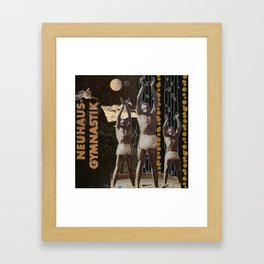 Men in the Moon Framed Art Print