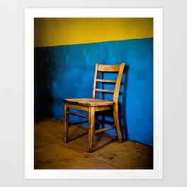 Vacant Chair Art Print