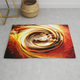 Creating With Fire Rug