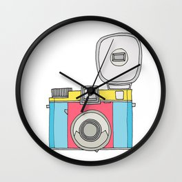 Click Click (Candy Colors) Wall Clock