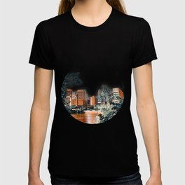 Minneapolis Minnesota Skyline and Architecture T-shirt