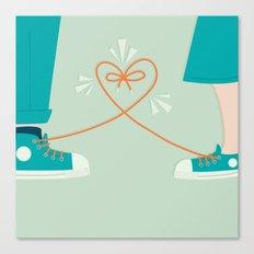 Sneaker Love Canvas Print