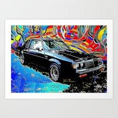 Buick Grand National Art Print